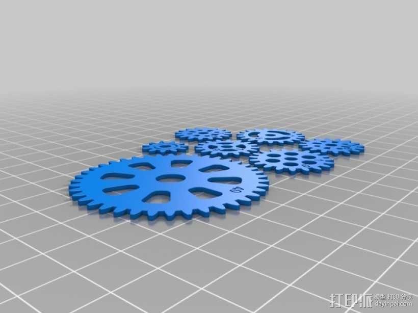 齿轮手机壳 3D模型  图17