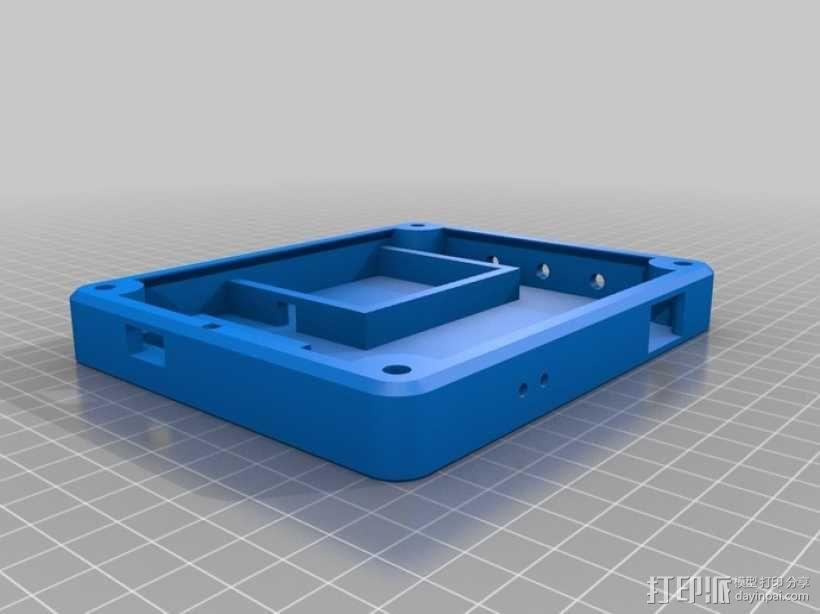 太阳能充电器 手电筒 3D模型  图4