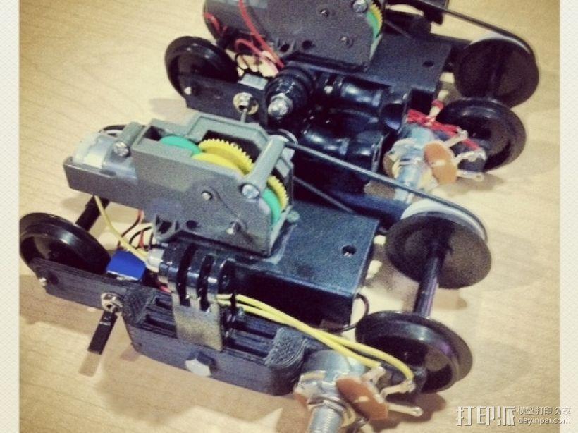 相机运动控制装置 3D模型  图1