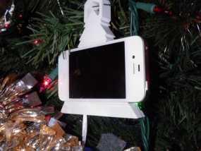 圣诞装饰品:iPhone音乐播放器 3D模型