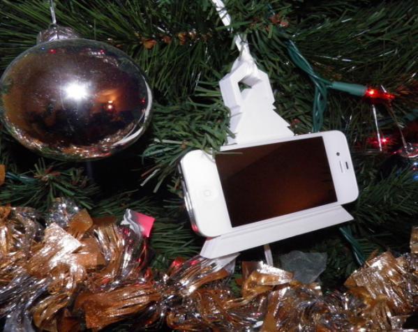 圣诞装饰品:iPhone音乐播放器 3D模型  图2