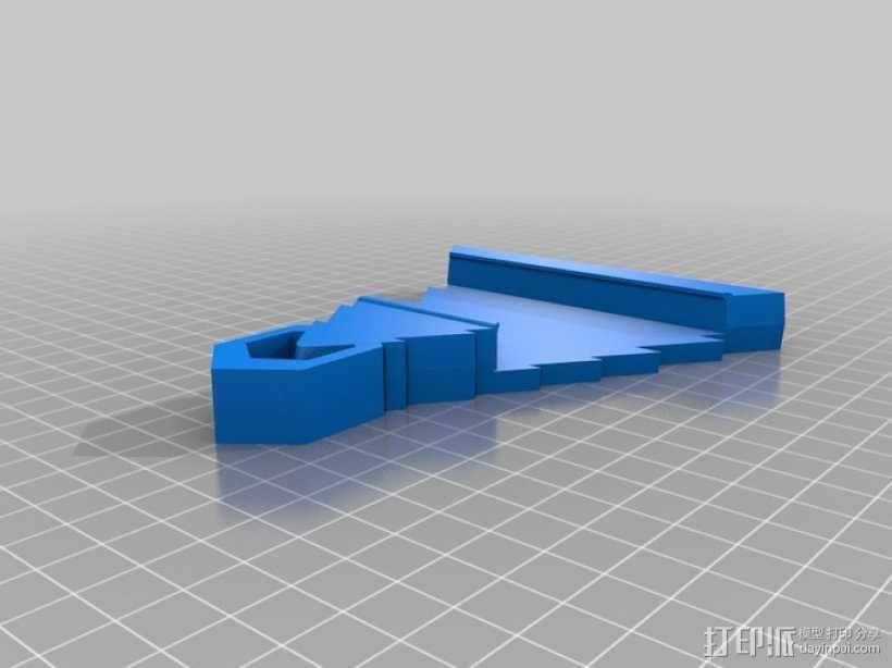 圣诞装饰品:iPhone音乐播放器 3D模型  图5