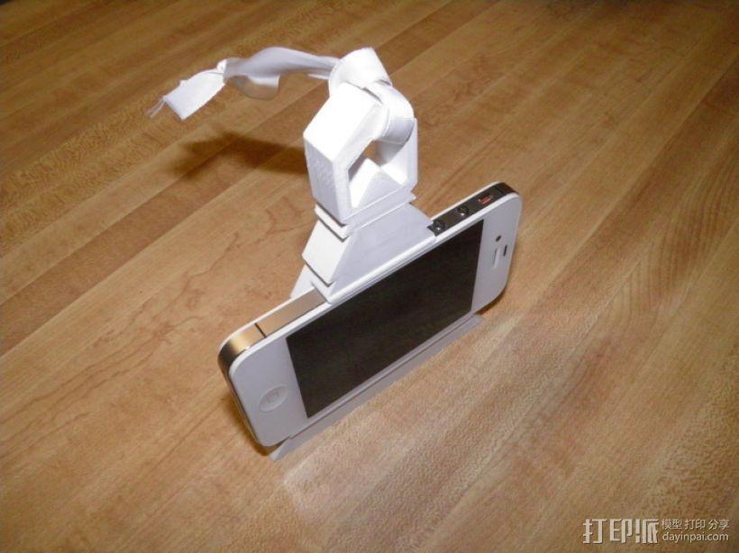 圣诞装饰品:iPhone音乐播放器 3D模型  图4