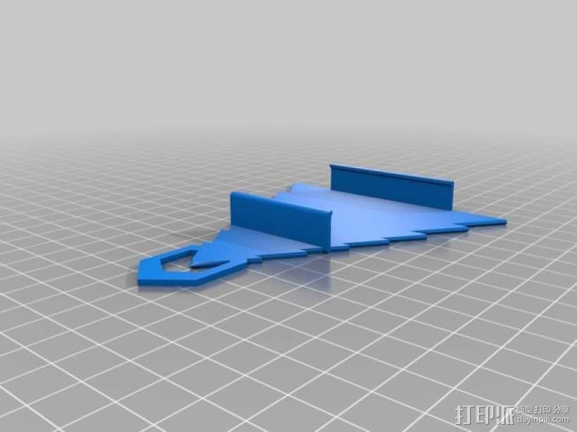 圣诞装饰品:iPhone音乐播放器 3D模型  图6