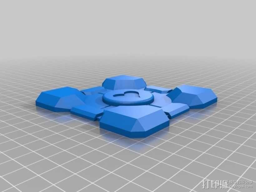 立方体礼品盒 3D模型  图5