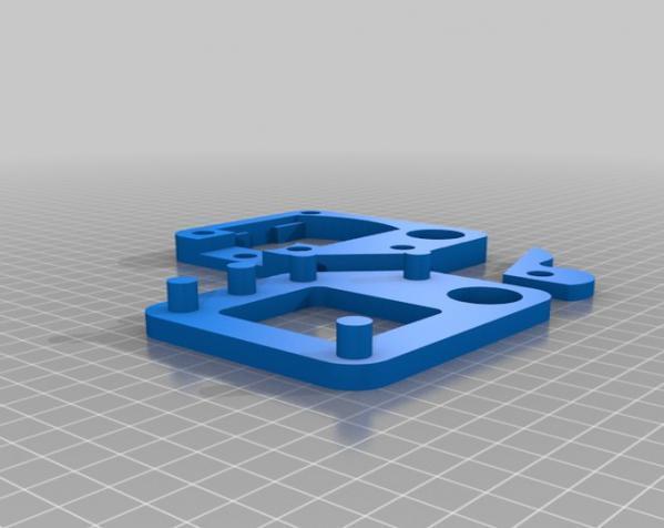 三脚架倾斜头 3D模型  图6