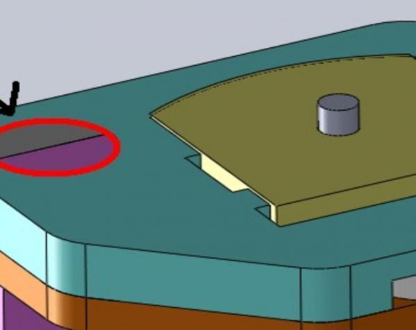 三脚架倾斜头 3D模型  图4