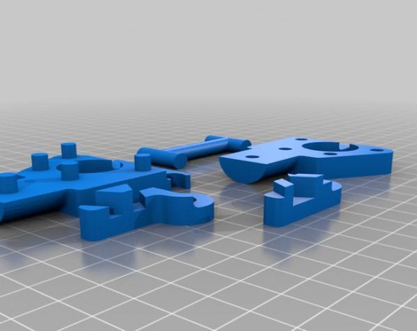 三脚架倾斜头 3D模型  图7