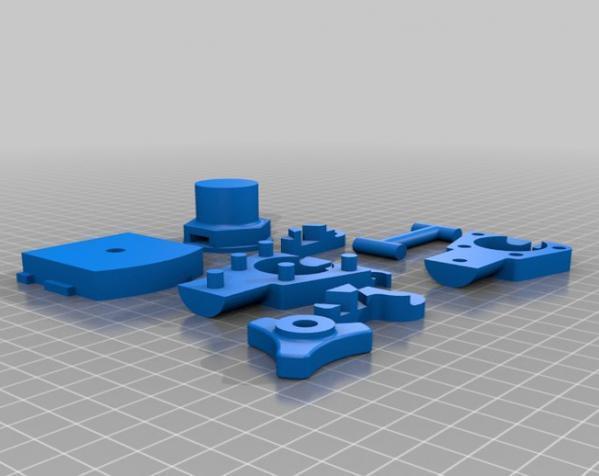 三脚架倾斜头 3D模型  图8