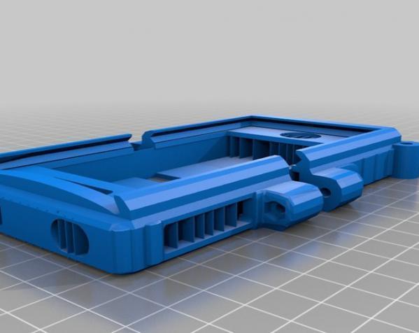 坦克 手机壳 3D模型  图1