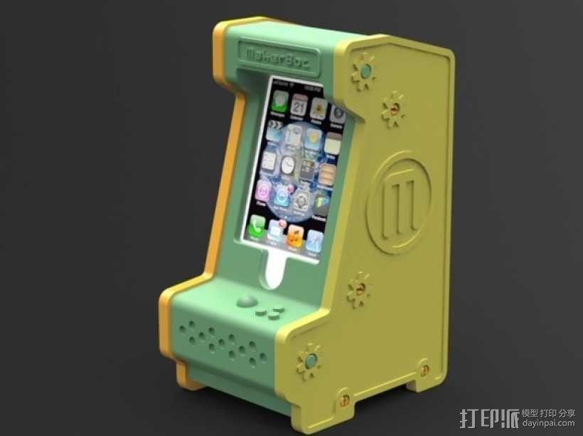 手机座 3D模型  图1