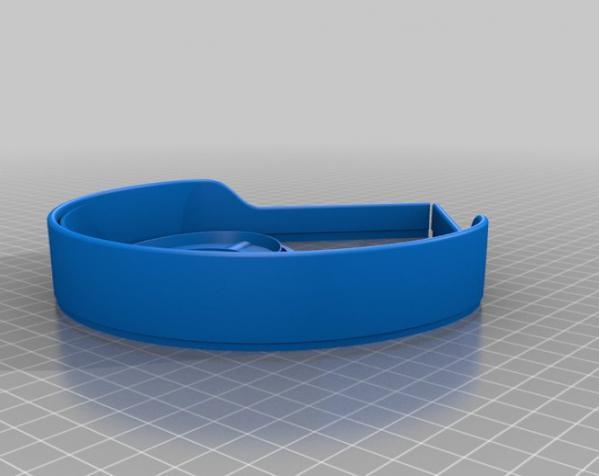 头戴式耳机 3D模型  图2