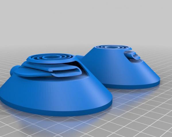 头戴式耳机 3D模型  图3