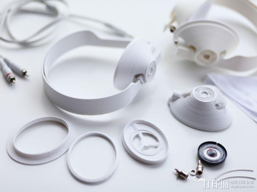 头戴式耳机 3D模型  图5