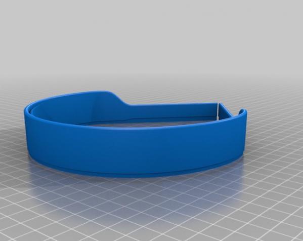 头戴式耳机 3D模型  图6