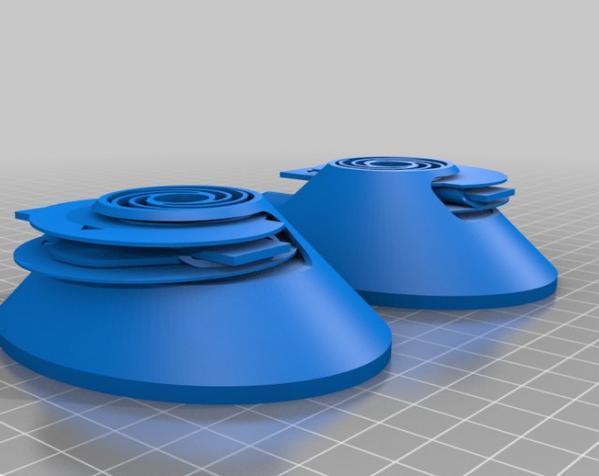 头戴式耳机 3D模型  图4