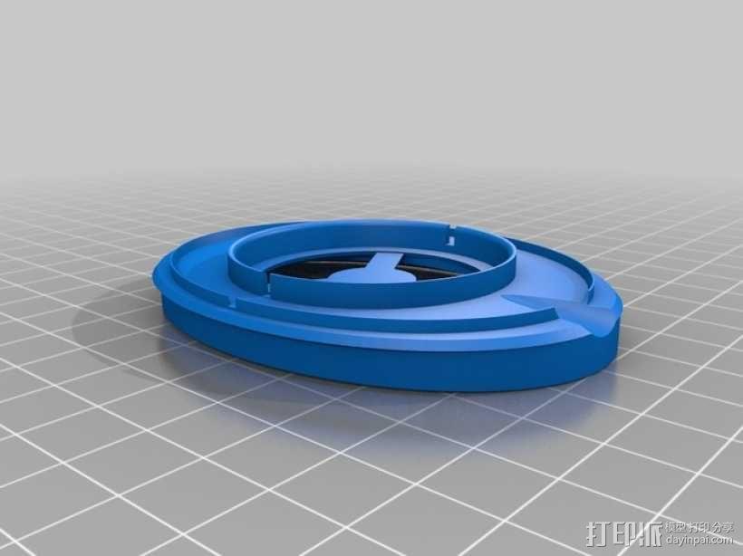 头戴式耳机 3D模型  图15