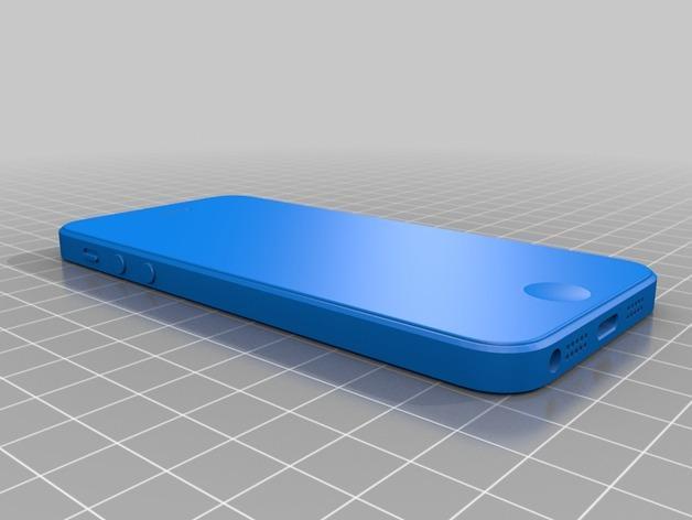 Iphone 5 3D模型  图1