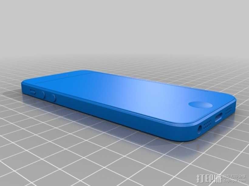 Iphone 5 3D模型  图4