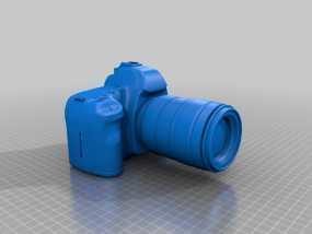 Canon 5D Mark II数码相机 3D模型