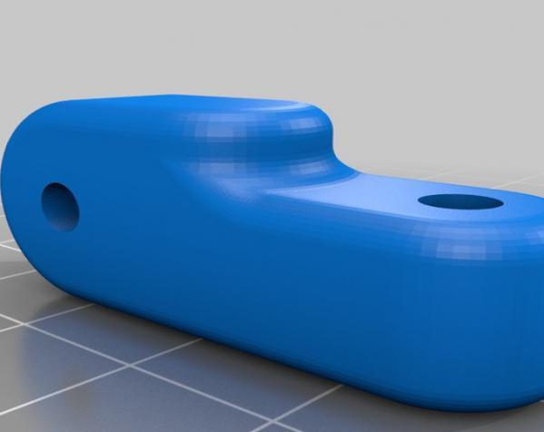 照相机座架 3D模型  图2