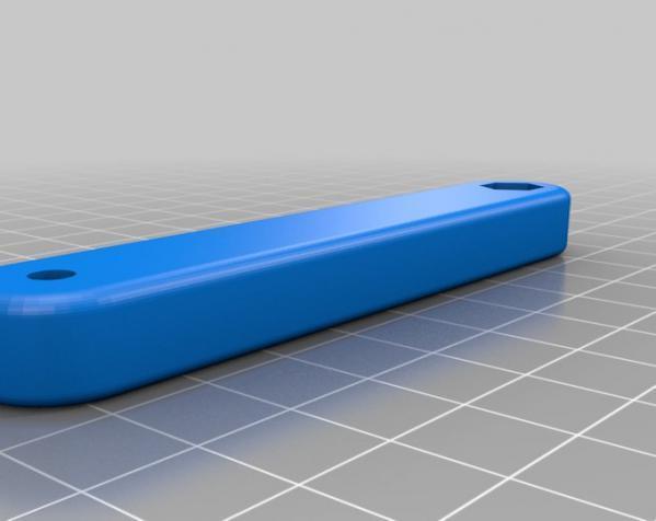 照相机座架 3D模型  图1