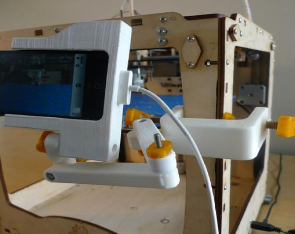 照相机座架 3D模型  图11