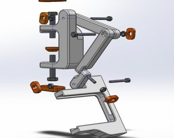 照相机座架 3D模型  图15