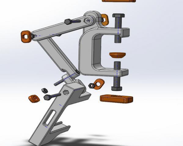 照相机座架 3D模型  图16