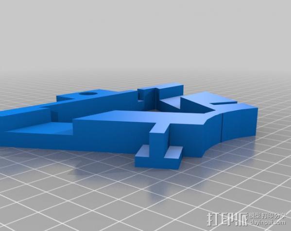 盘式电机 3D模型  图4