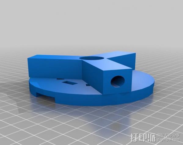 盘式电机 3D模型  图2