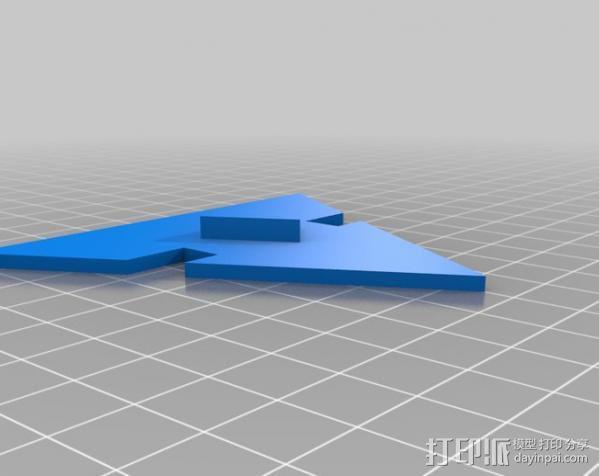 盘式电机 3D模型  图6