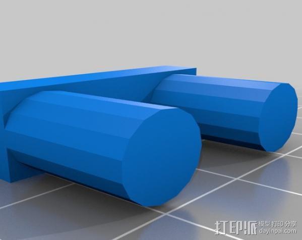 盘式电机 3D模型  图8