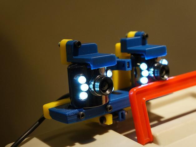 摄像机底座 3D模型  图1