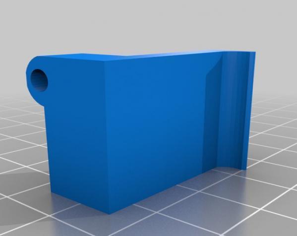 摄像机底座 3D模型  图3