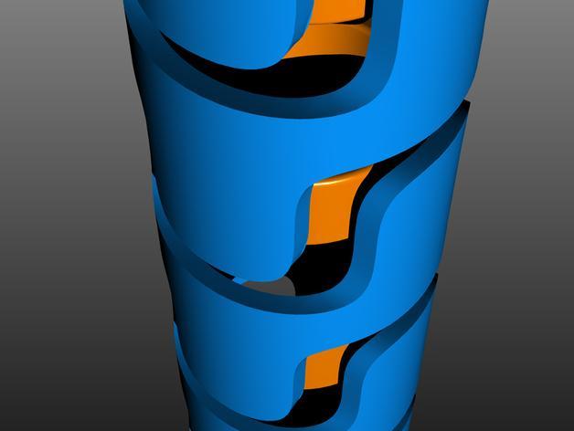 电线收纳 3D模型  图4