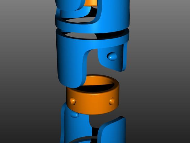 电线收纳 3D模型  图5