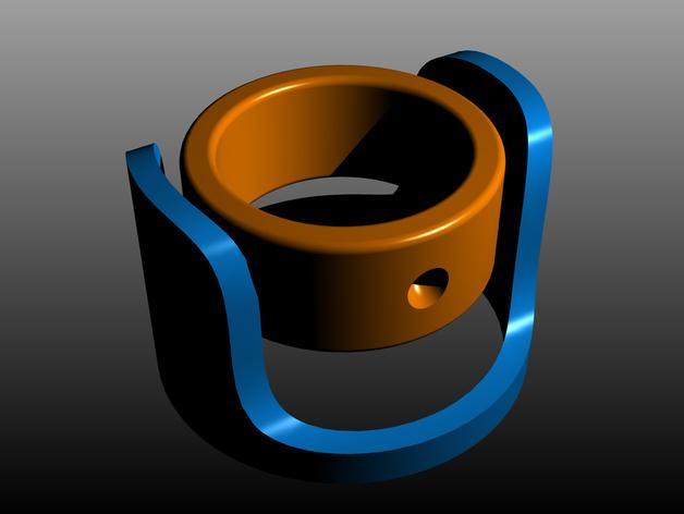 电线收纳 3D模型  图3