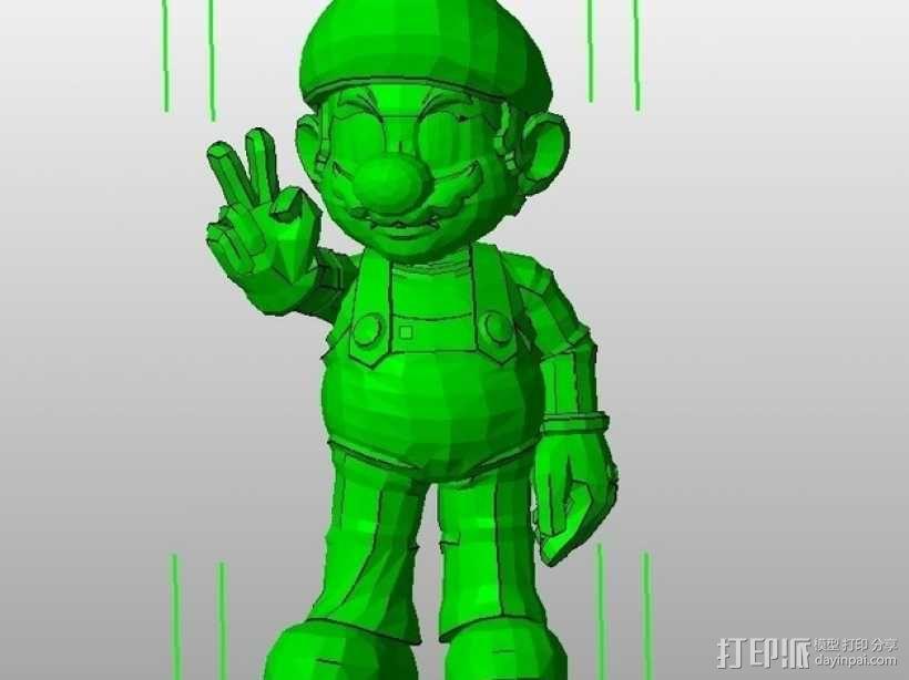马里奥 3D模型  图1