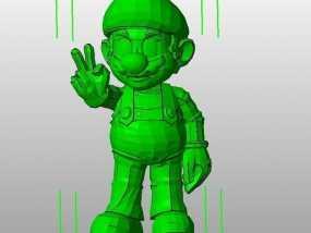 马里奥 3D模型