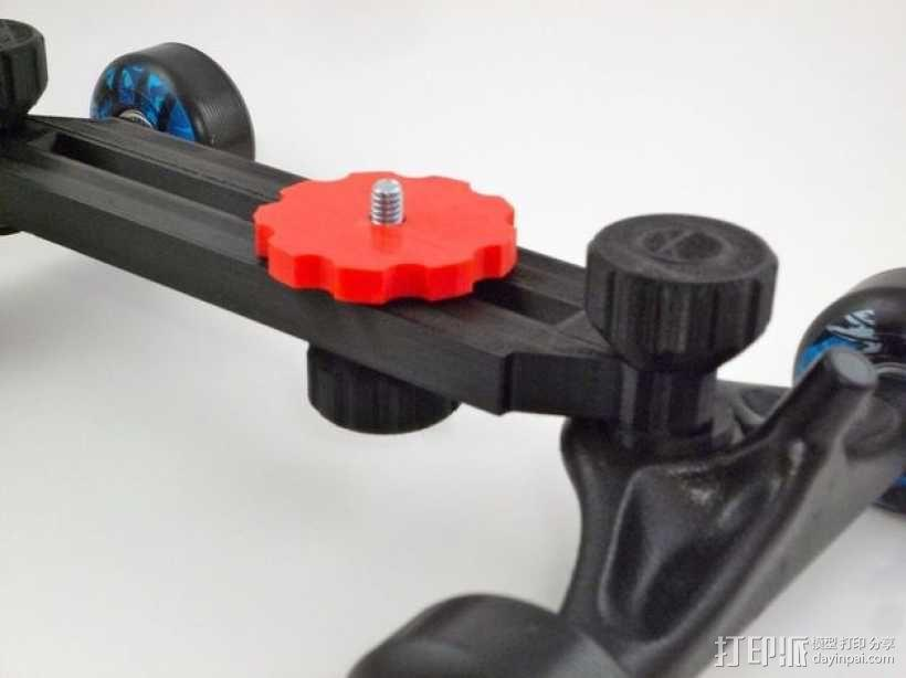 单反相机导轨车 3D模型  图2