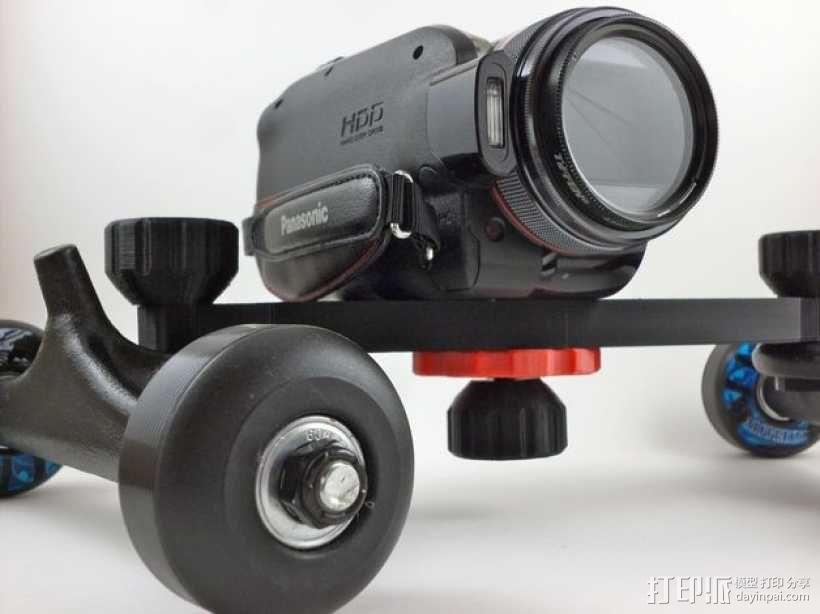 单反相机导轨车 3D模型  图4