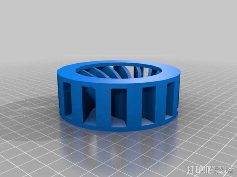 音乐汽笛 3D模型  图2