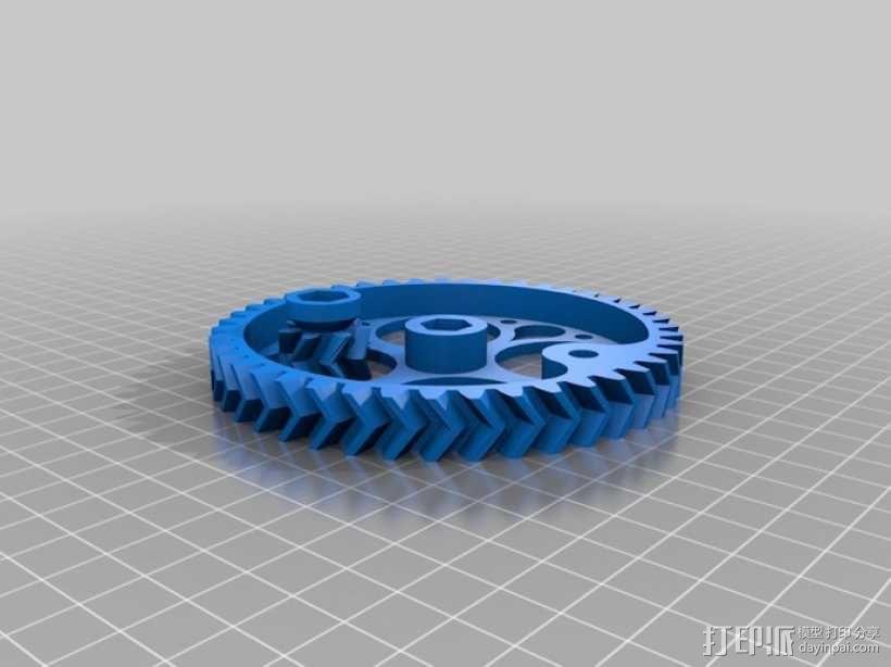 音乐汽笛 3D模型  图4