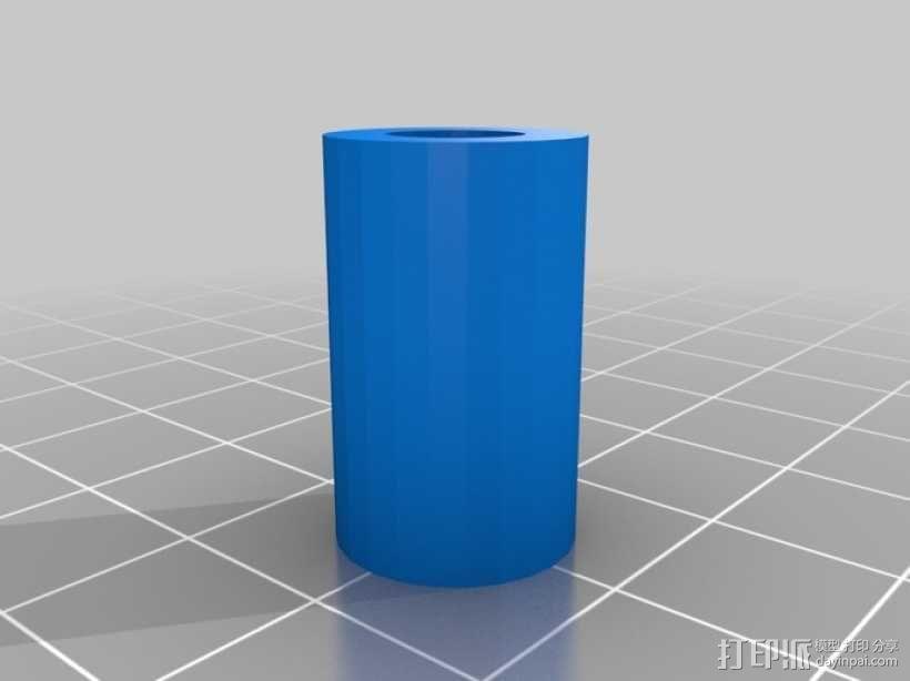 音乐汽笛 3D模型  图3