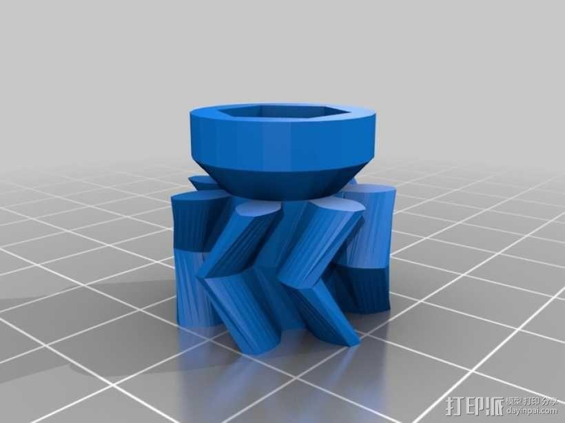 音乐汽笛 3D模型  图7