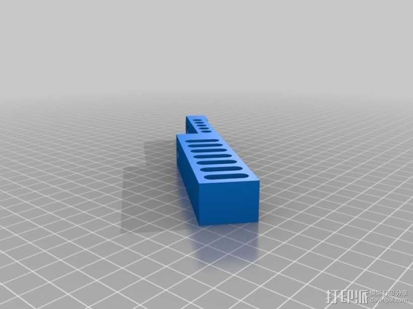 音乐汽笛 3D模型  图5
