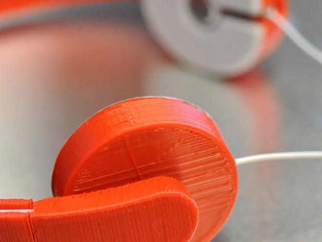 耳机适配器 3D模型  图1