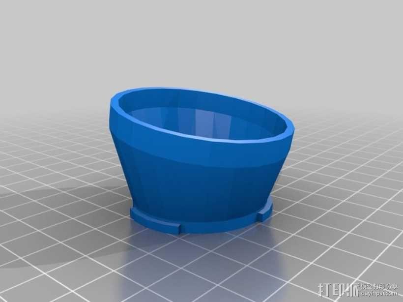移轴微单镜头配适器 3D模型  图4