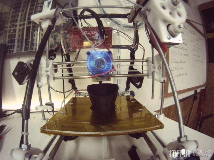 移轴微单镜头配适器 3D模型  图3